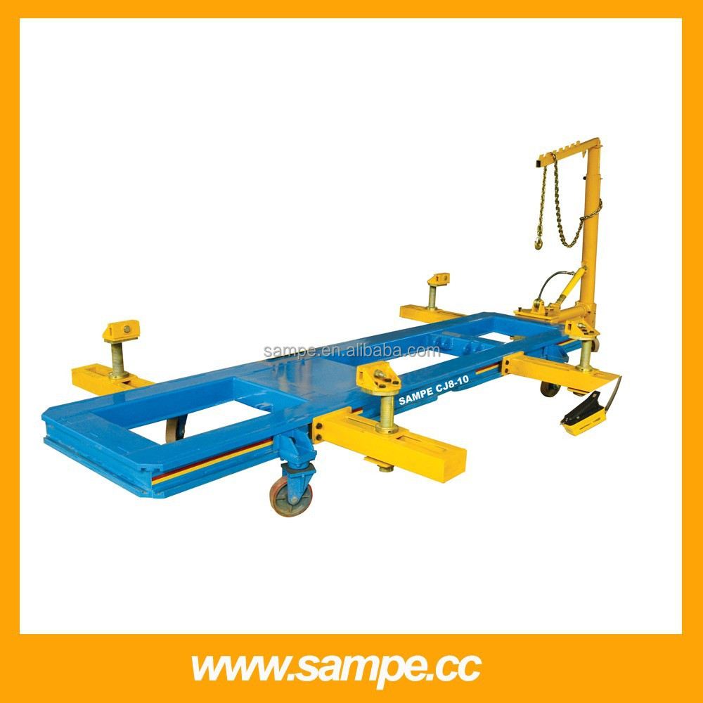 auto frame straightening machine