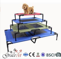 Elevated dog cot / outdoor dog bed / elevated sleeping cot