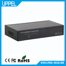 Promotional Price 5-port 10/100/1000Mbps Unmanaged POE 10G Ethernet Network Switch