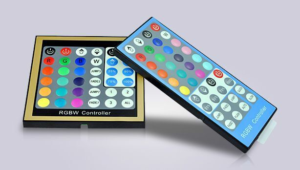 Touch LED RGBW controller LED strips panel RF controlelr