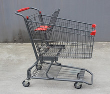 Trolley Shopping For Supermarket