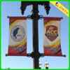 Custom outdoor pvc vinyl street pole solvent printing banner