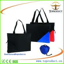 Promotional Eco Reusable Fruit Bag Polyester Folding Shopping Bags