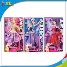 A394105 juguete de moda vestido de la muñeca muñeca de la muchacha