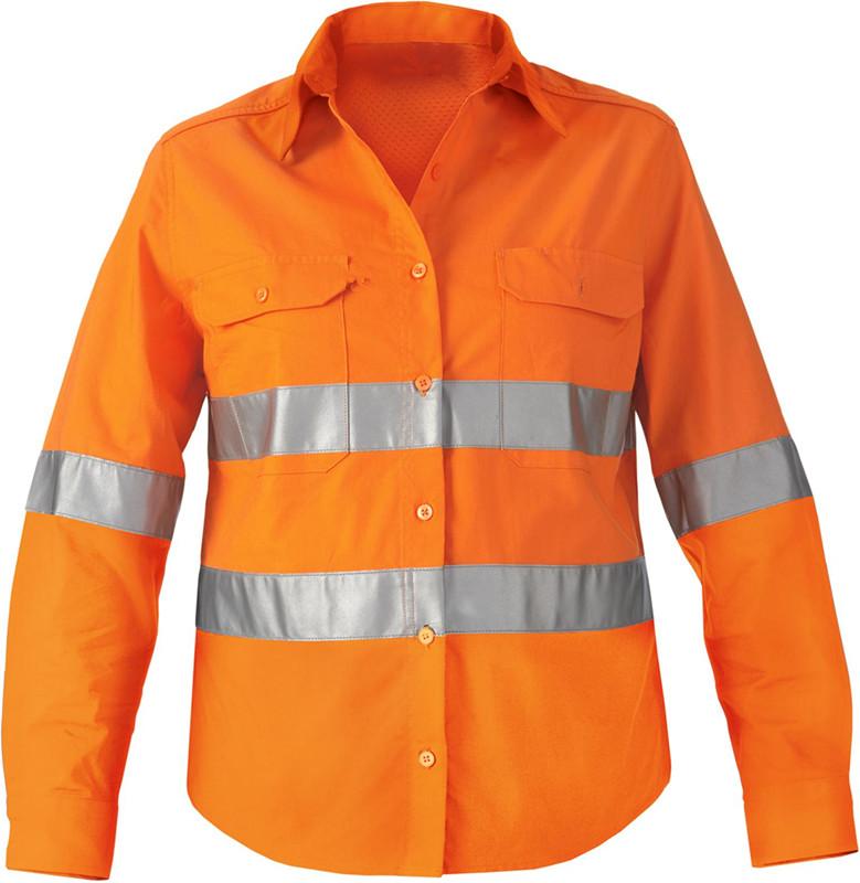 Construction Work: Orange Construction Work Shirts