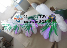 Giant inflatable flower decoration / lighting inflatable flower for decoration
