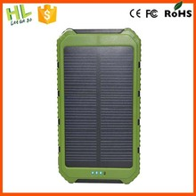Fashionable portable 10000mah solar laptop charger for lenovo