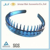 plastic hair bands with teeth