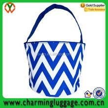 Royal Blue Chevron Wholesale Bucket Bag