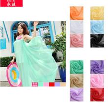 hot!!! china wholesale fashion design plain thin chiffon large summer wholesale beach towel