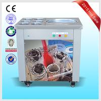 Jiangmen factory price stir fry ice cream machine taylor ice cream machine used fried ice cream machine