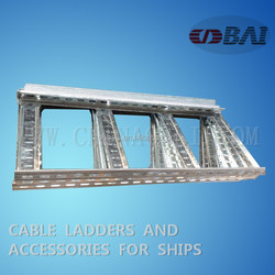 Marine plate Outfitting stainless steel ventilated trough for ship Professional factory