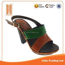 Comfortable all kinds of colors fashion ladies fancy shoes high heel