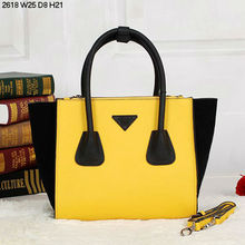 2015 beautiful bags PU Brand Leather Handbag Lady bag Women's bag