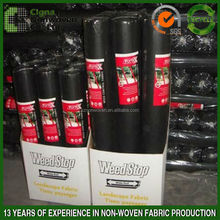 Black color PP spunbond non woven for weed control