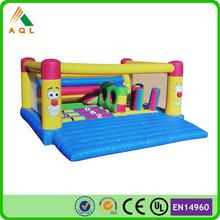 Lovely cartoon air castle inflatables/ inflatable castle jumper/ kids toys air castle