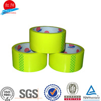 bopp acrylic yellow 50MM color tape hs code for tape