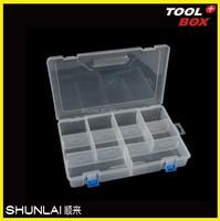 Plastic adjustable compartment tool storage box,plastic tool case,tool kits