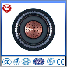 copper conductor pvc insulation waterproof electrical cable