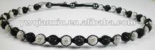 Promotion Handmade Colorful Beaded Shamballa Necklace