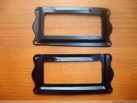 Black Iron Label Frame name Card Holder Handle library display sorting filing shelf cabinet cupboard 64*31mm