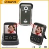 Wireless video door phone manufacturer, two way intercom and IR camera, 1 camera with 3 monitors
