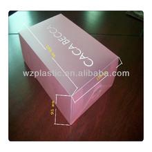 customized printed plastic box /OEM plastic box