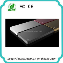 Wholesale High quality low price protable power bank/Golden 4000 mah power bank