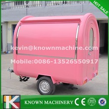 Hot-sale high-quality food vending cart/food carts for sale/Mobile Food Van