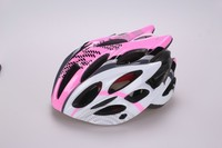 2015 popular PC shield in-mold bike helmet with high quality black EPS