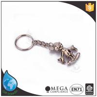 Wholesale metal custom word keychain