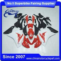 FFKHD034 Motorcycle ABS Fairing For CBR125R 2011 2012 2013 Red And White