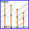 Steel adjustable shoring posts/reusable formwork
