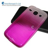 Super slim clear brushed Tpu case for Samsung Galaxy core i8262