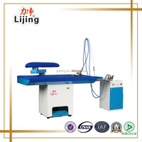 finishing equipment clothes Ironing Table for laundry shop ( Steam Ironer )