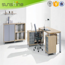 2015 Hot new hot sale promotion lacquered executive office desk