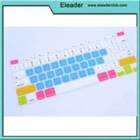 Ultra Thin colorful Soft TPU Keyboard Cover for Macbook Pro air 13 15 17 Inch