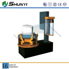Transportable cling film cylinder type wrapper wrapping machine