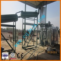 hot sale used lubricant oil recovery kit/machine/refinery/equipment to diesel and fuel oil