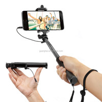 2015 New Design Bling Selfie Stick for Androids and iOS system, Colorful Folding Selfie Stick for Huawei Ascend P6