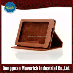 Brown 7.5 inches tablet case