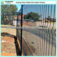 Wholesale top selling 4 x 50mm deep V Perimeter fence Linholme Prison