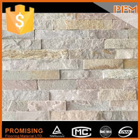 Exterior wall cladding quality dry stacked stone