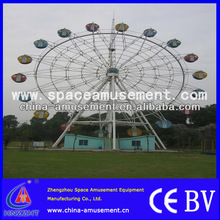 Happy and fantastic theme park rides wheel games outdoor ferris wheel for sale with various types