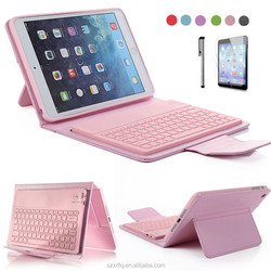 For ipad cases and covers tablet case with keyboard,tablet leather case,silicone rubber tablet case
