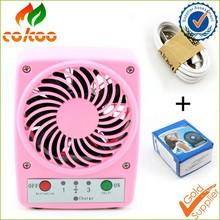 Popular Mini Cute Portable Handheld Cooling Fan Battery Power News mall electric fan