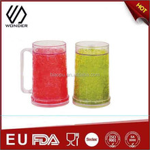 promotion 16oz plastic freezer mugs for beer