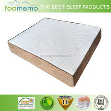 2015 factory price health care bamboo cover real dream sleeper foam mattress