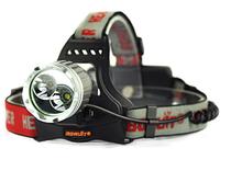 Led mining headlamp 2000 Lumen T6+ R5 LED Headlamp Rechargeable Headlight Head Flashlight Torch Lanterna +AC Charger+2x 18650 Ba