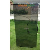 amorphous silicon transparent flexible thin film solar panel